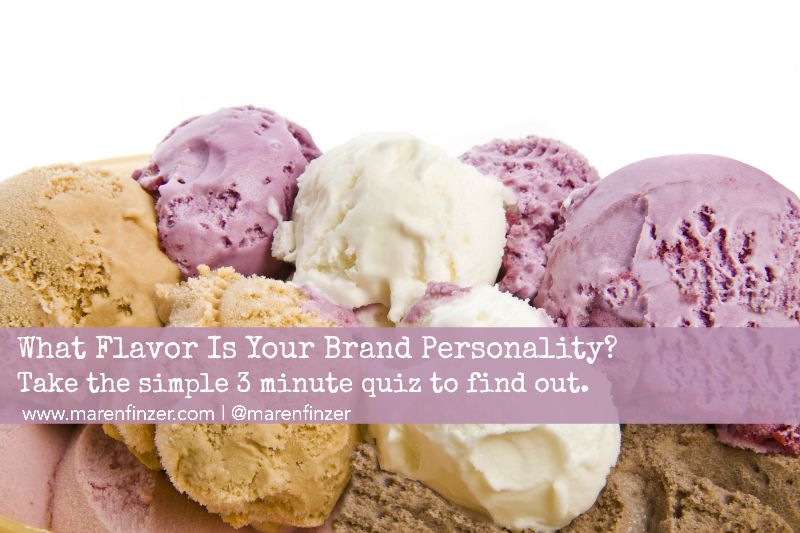 What Flavor is Your Brand Personality?