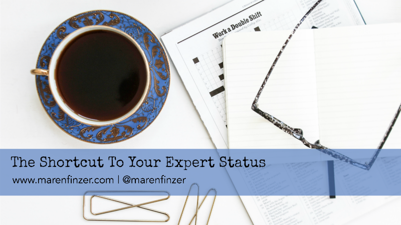 The Shortcut to Your Expert Status