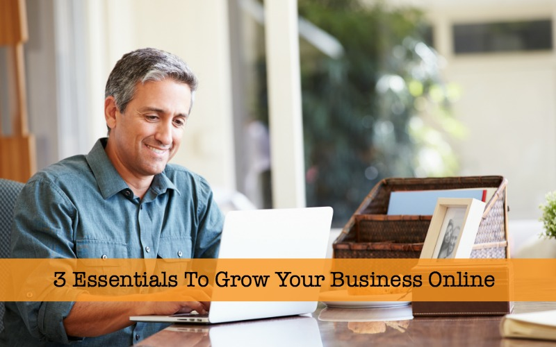 3 Essentials To Grow Your Business Online
